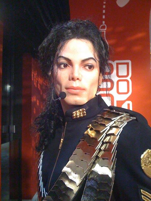 Michael Jackson en el Museo De Sera
