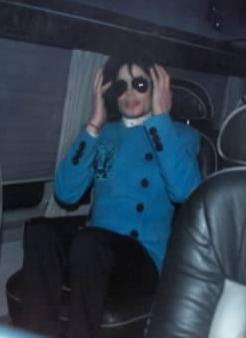 Llegada de Michael Jackson a la Catedral de San Patricio