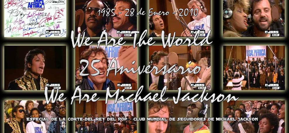 Ir al Especial de We Are The World - 25 Aniversario
